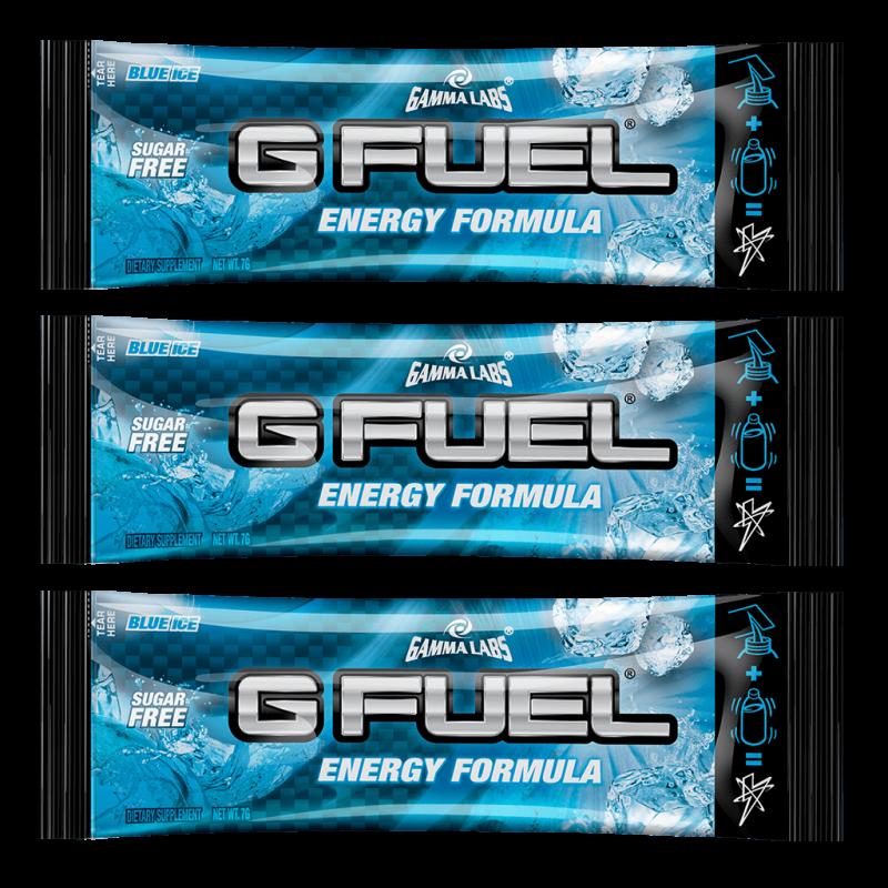 G FUEL Blue Ice  - 3x 7g balení