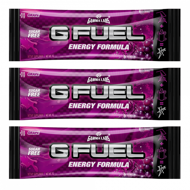 G FUEL Grape - 3x 7g balení
