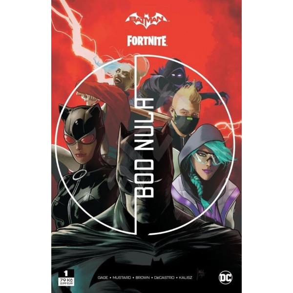 Batman/Fortnite: Bod Nula 1