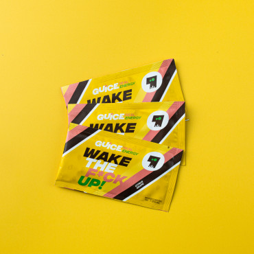 GUICE Real Energy - Wake the f*ck up (Kyselé hrozny) 3x 10g balení