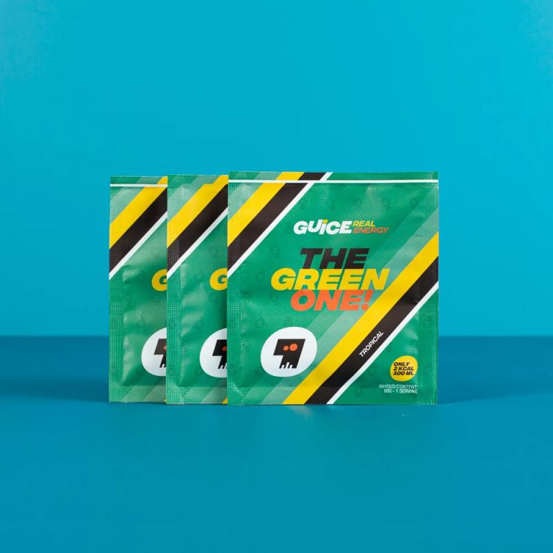 GUICE Real Energy - The Green One (Tropická) 3x 10g balení