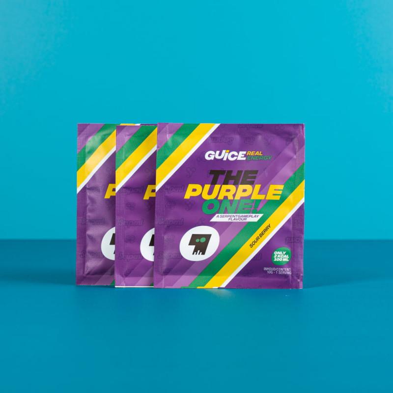 GUICE Real Energy - The Purple One (Kyselé bobule) 3x 10g balení