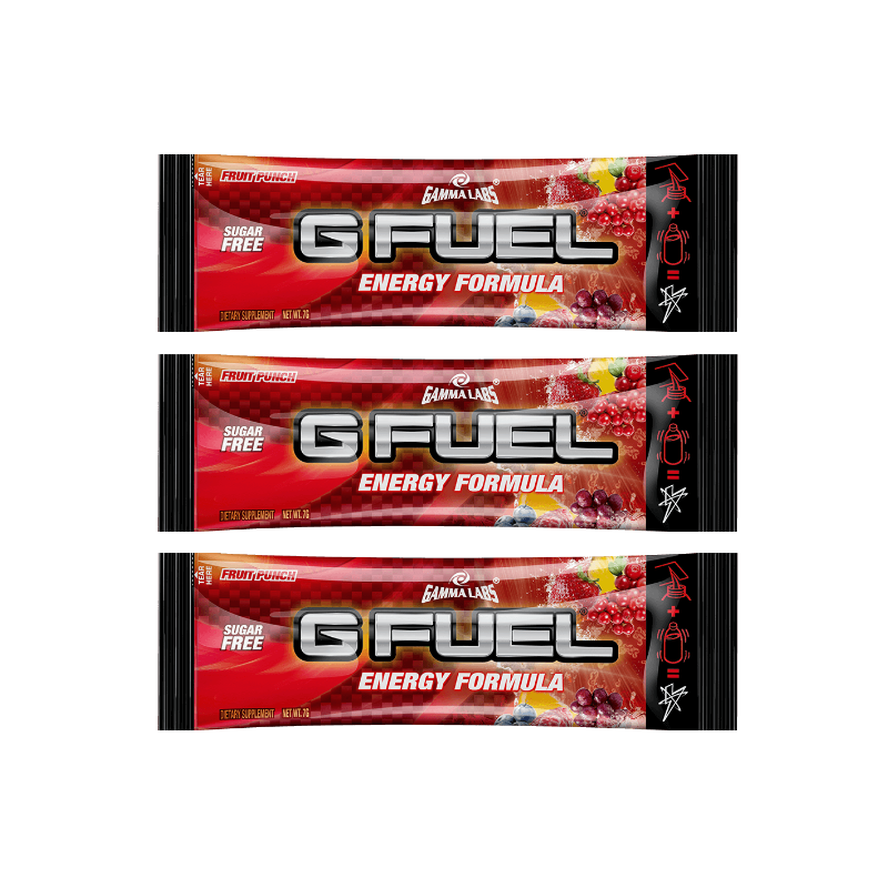 G FUEL Fruit Punch - 3x 7g balení