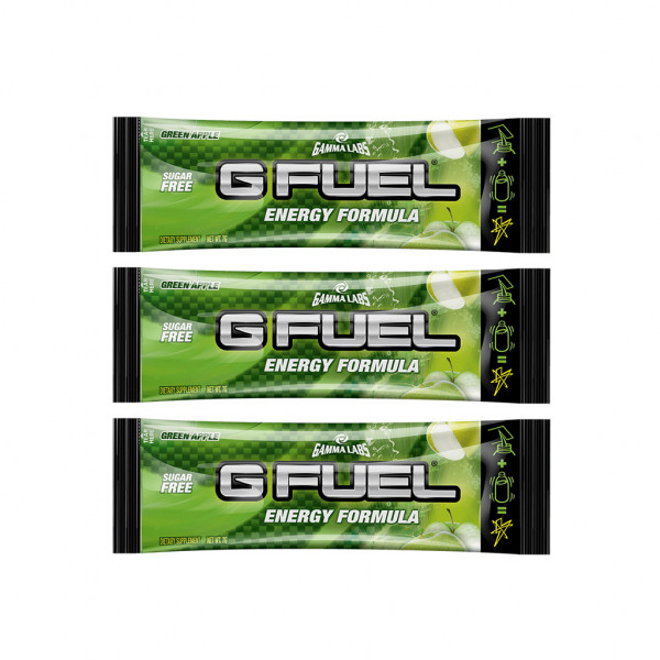 G FUEL Green Apple - 3x 7g balení