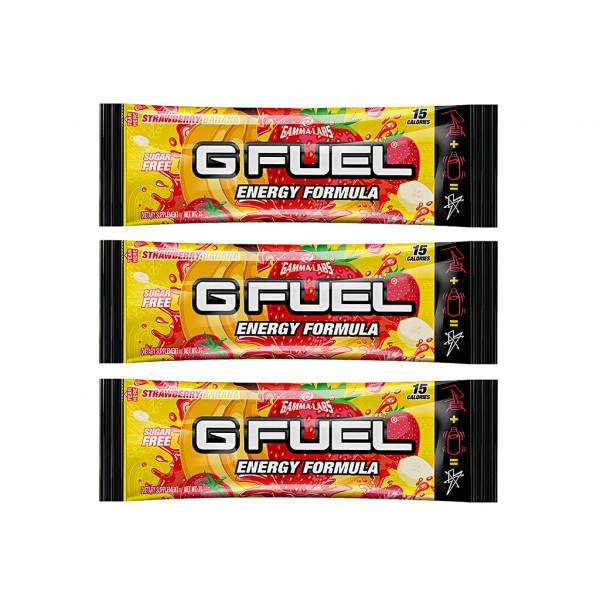 G FUEL Strawberry & Banana (KSI) - 3x 7g balení
