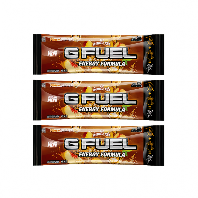 G FUEL Peach Iced Tea (Lirik) - 3x 7g balení