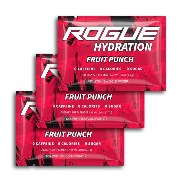 Rogue Energy - Fruit Punch Hydrationi 3x 2,7g balení