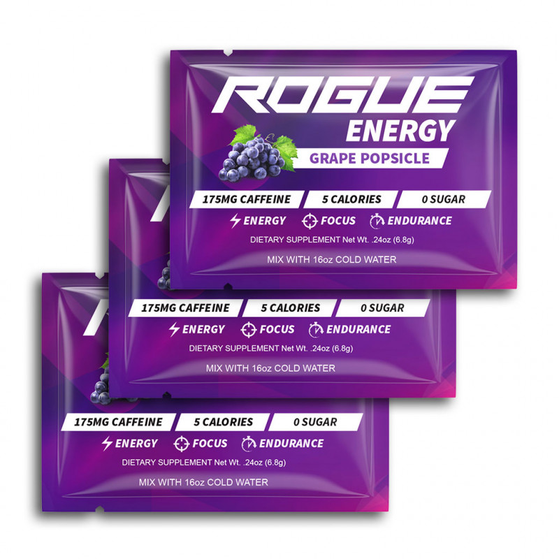Rogue Energy - Grape Popsicle 3 x 8g balení