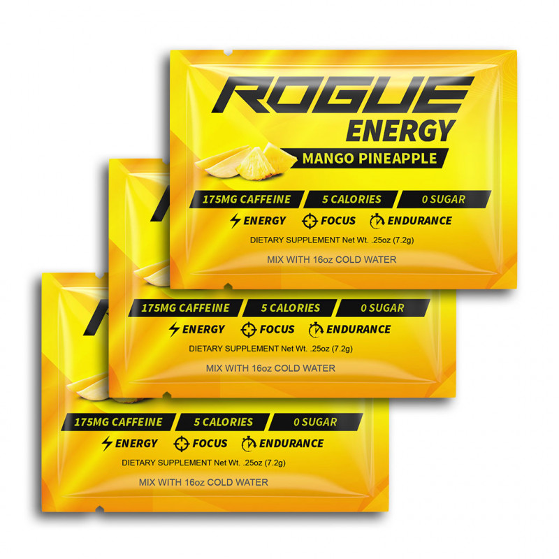 Rogue Energy - Mango Pineapple 3 x 8g balení