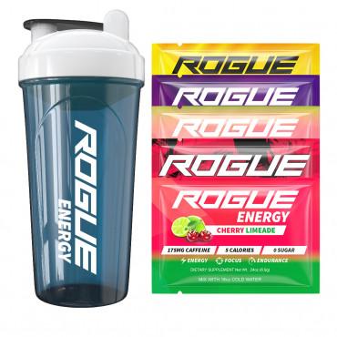 Rogue Energy Starter kit - Gladiator + 5 testovacích balení
