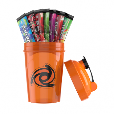 G Fuel Starter kit - Solar Flare oranžový + 7 testovacích balení