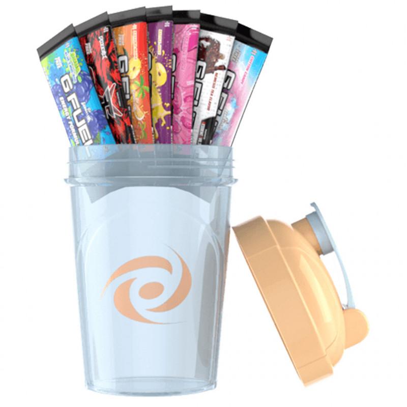 G Fuel Starter kit - Pastel Peach + 7 testovacích balení