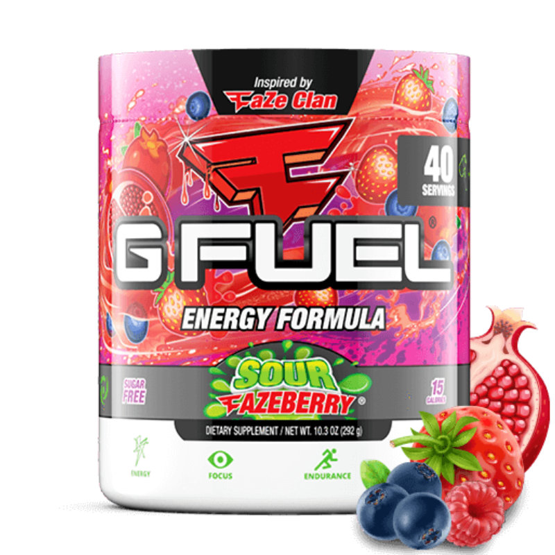 G FUEL Sour Fazeberry