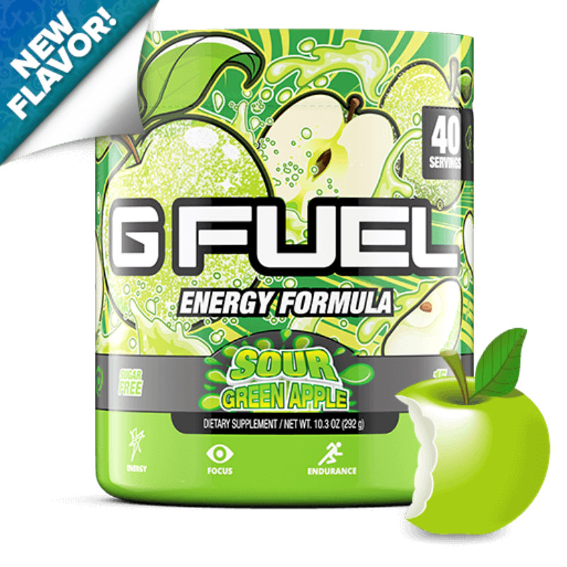 G FUEL Sour Green Apple