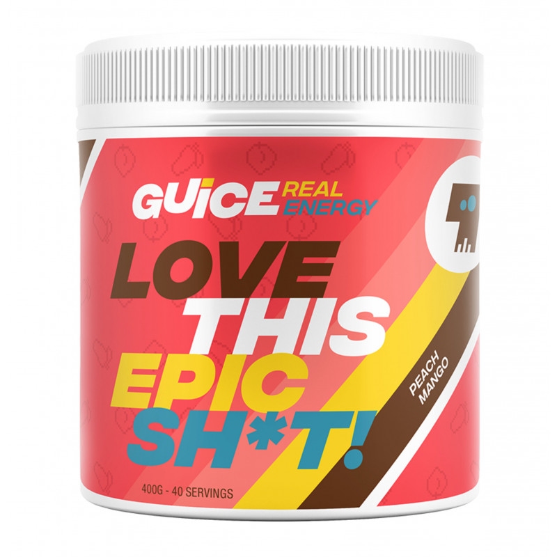 GUICE Real Energy - Love this epic sh!t (Broskev mango)