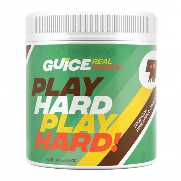 GUICE Real Energy - Play Hard Play Hard! (Tropická)