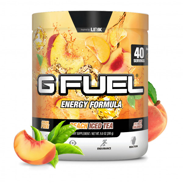 G FUEL Peach Iced Tea (Lirik)
