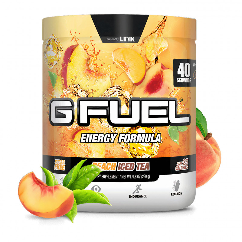 G FUEL Peach Iced Tea (Lirik)