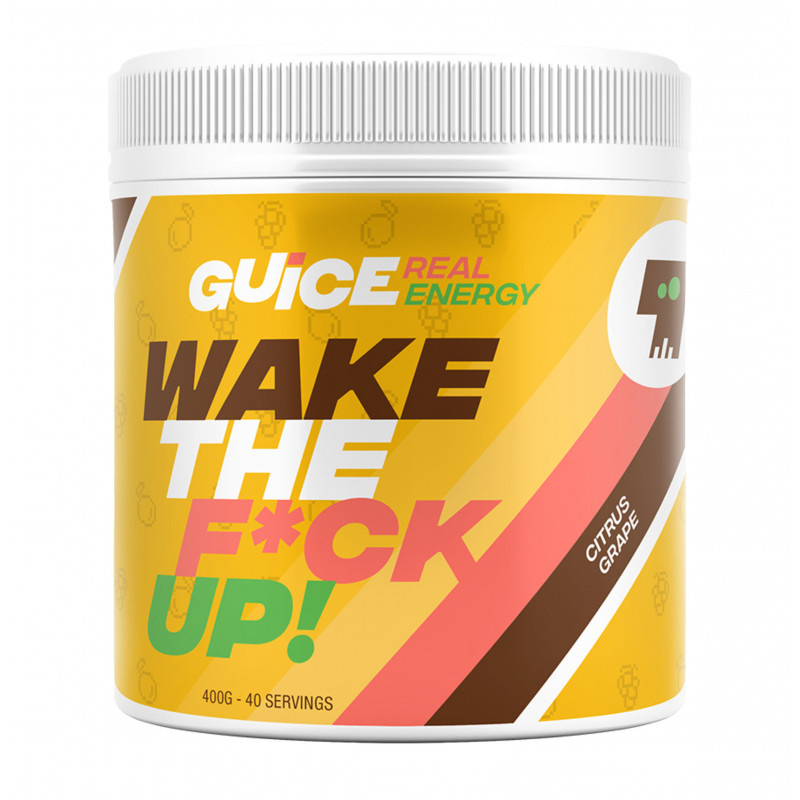 GUICE Real Energy - Wake the f*ck up (Kyselé hrozny)
