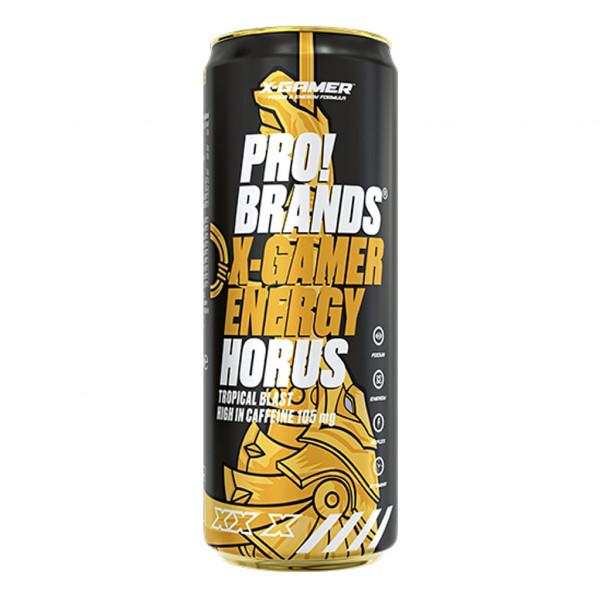PRO!BRANDS! X Gamer Energy Horus Tropical Blast 330 ml